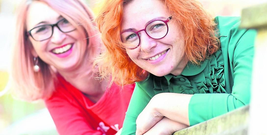- Teatr nas napędza, jesteśmy szczęśliwe, kiedy tworzymy spektakle - mówią: Marta Pohrebny (na pierwszym planie) I Małgorzata Paszkier-Wojcieszonek z