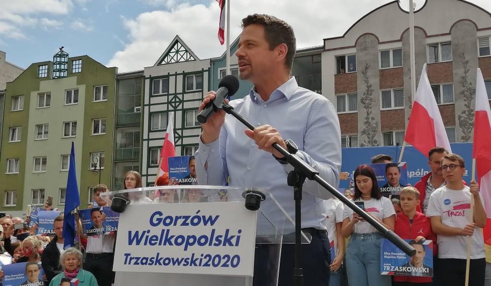 Film do artykułu: Rafał Trzaskowski w Gorzowie Wielkopolskim. Takich tłumów nie było tu od dawna! - RELACJA