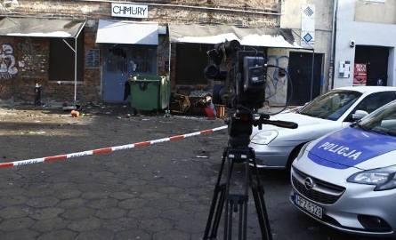 """Zdemolowany lokal """"Chmury"""" na warszawskiej Pradze"""
