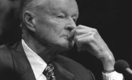 Zbigniew Brzeziński (zdjęcie z profilu Z. Brzezińskiego na twitterze).