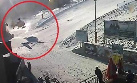 Wypadek na wyciągu narciarskim w Wiśle Soszowie. Z kanapy spadło dwóch mężczyzn?