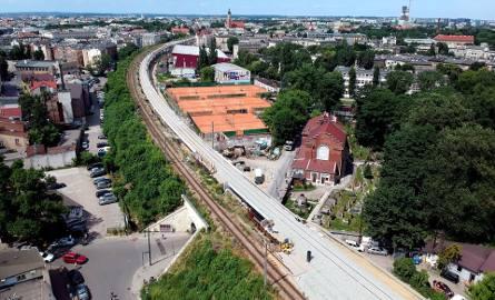 Nowy tor w centrum Krakowa