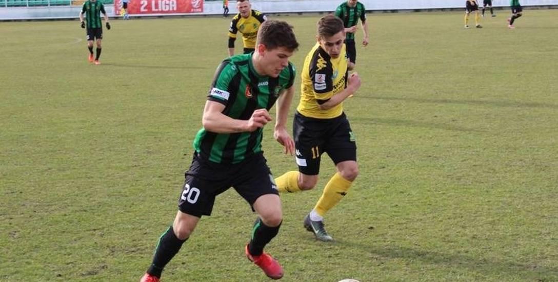 Szymon Jopek w sezonie 2018/19 rozegrał 24 mecze na poziomie 2. ligi