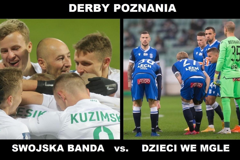 Warta faworytem w meczu z Lechem? Zobacz memy przed derbami Poznania