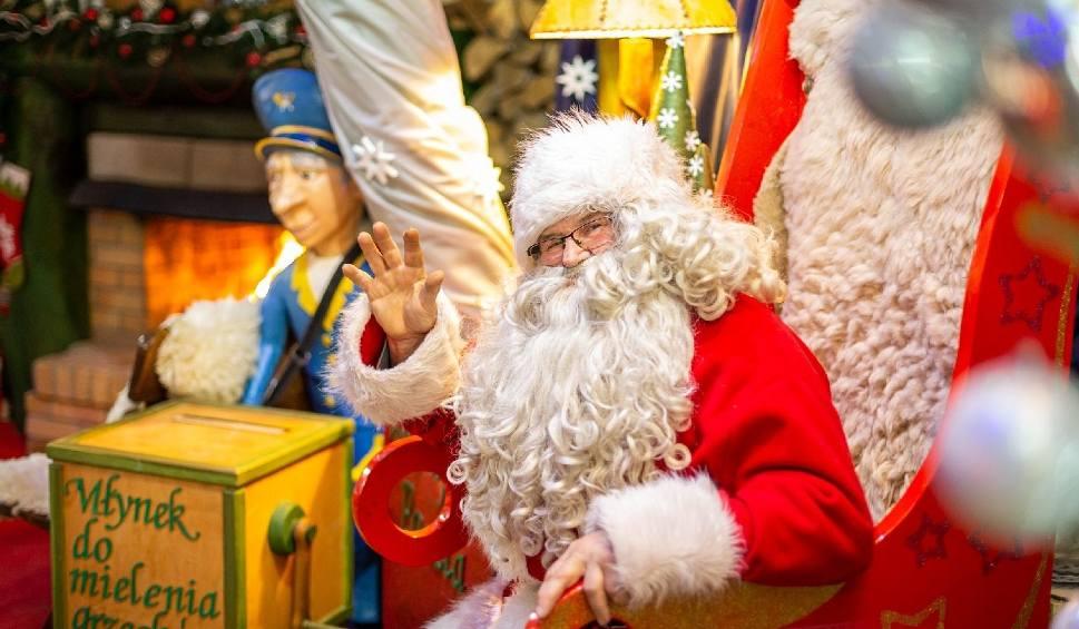 Film do artykułu: Święty Mikołaj już przybył do Bałtowa. Odwiedzili go pierwsi goście [FANTASTYCZNE ZDJĘCIA, WIDEO]