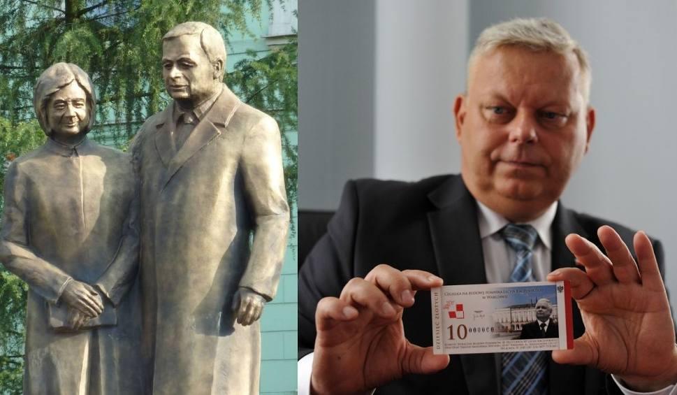 Film do artykułu: Radom. CBA sprawdza sprzedaż cegiełek na budowę pomnika Kaczyńskich. Poseł Suski: to absurd