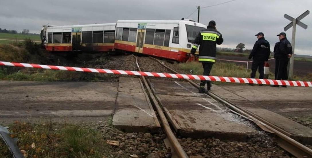 Do katastrofy w ruchu lądowym doszło w październiku ubiegłego roku w nowym Gronowie koło Człuchowa