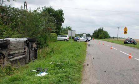 Wypadek w Jezierzu.