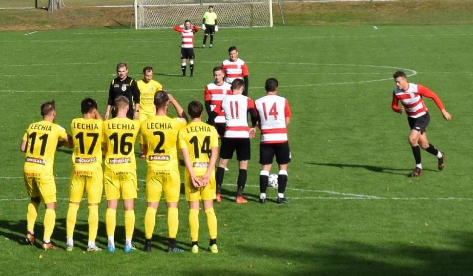 Film do artykułu: Pierwsza połowa dla Spójni Ośno Lubuskie, druga dla Lechii II Zielona Góra, ale bramek w tym meczu kibice się nie doczekali