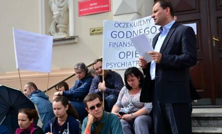 Lubelski protest w obronie zdrowia psychicznego (ZDJĘCIA)