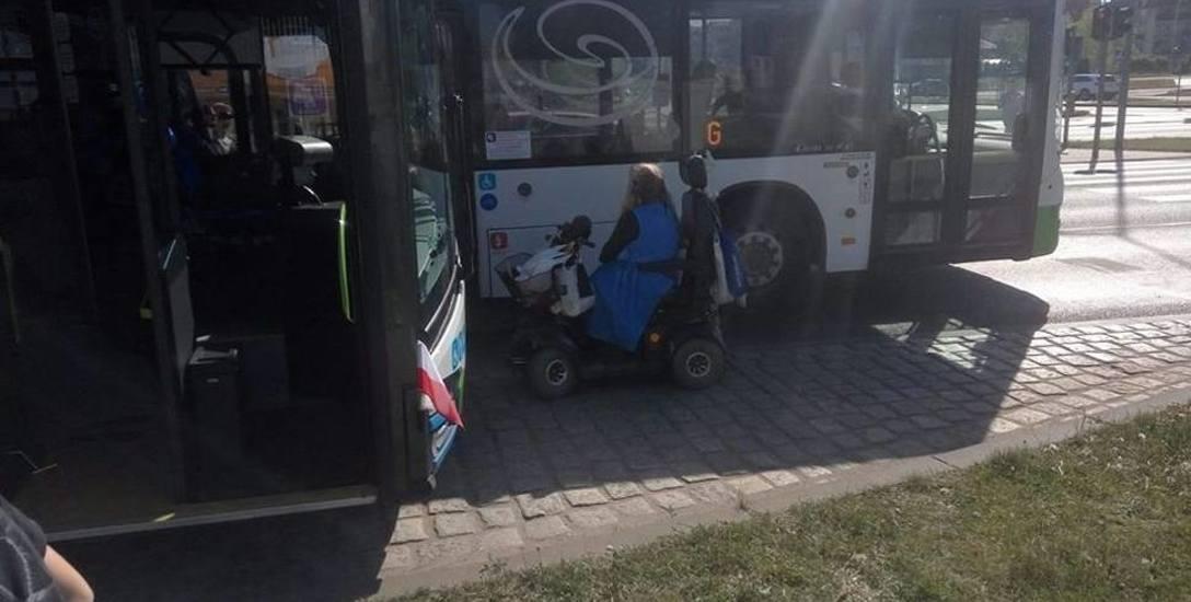 Autobusami nie będzie można przewozić skuterów. Radni regulaminem zamierzają ukrócić wybryki pani Bogusi