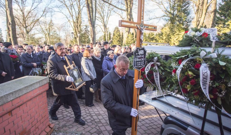Film do artykułu: Pogrzeb radnego Andrzeja Obecnego w Słupsku [zdjęcia]