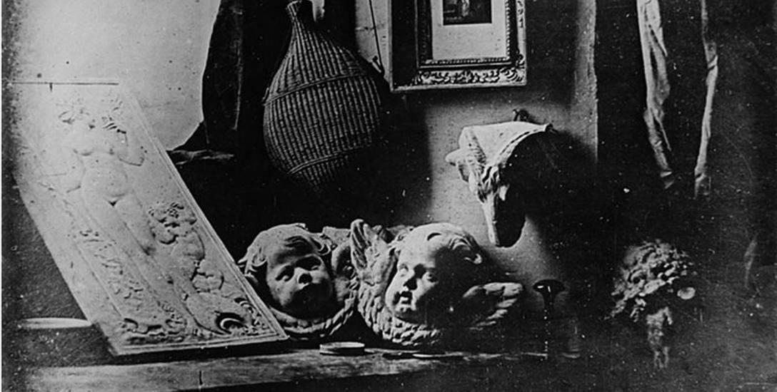 Atelier, jedna z pierwszych prac autorstwa Louisa Jacquesa Daguerre