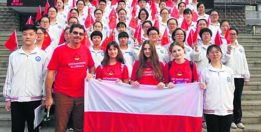 Języka chińskiego uczą się też uczniowie I LO w Świętochłowicach.