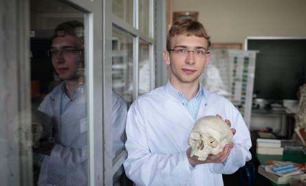 Michał Kopka zamiłowanie do biologii rozwijał w sobie od najmłodszych lat.