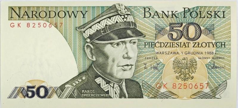 """""""Stare"""" 50 złotych z Karolem Świerczewskim"""