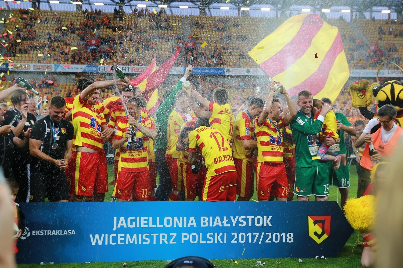 Jagiellonia Białystok wicemistrzem Polski! (zdjęcia, wideo)