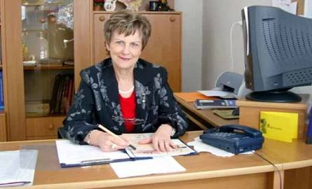 Tamara Łapińska, była dyrektor gimnazjum