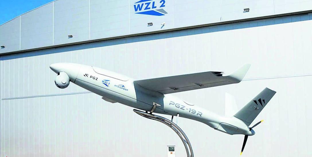 Tak ma się prezentować bezzałogowy statek powietrzny, wyprodukowany w bydgoskich zakładach.