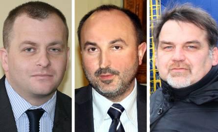 Prezesi miejskich spółek mogą zarabiać więcej. Od lewej: Andrzej Górski, Janusz Adamek i Piotr Polek