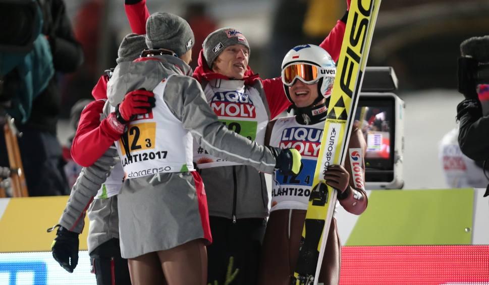 Film do artykułu: Puchar Świata w Planicy: Nowy rekord Polski Kamila Stocha. Polacy na podium!