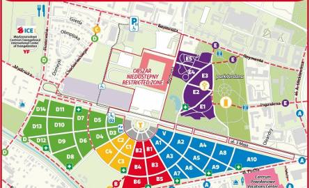 ŚDM. Jak poruszać się po Krakowie? Mapy dla pielgrzymów [ZDJĘCIA]