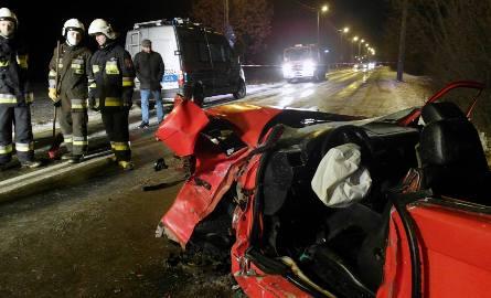 Wypadek na Łagiewnickiej w Łodzi. Troje dzieci rannych
