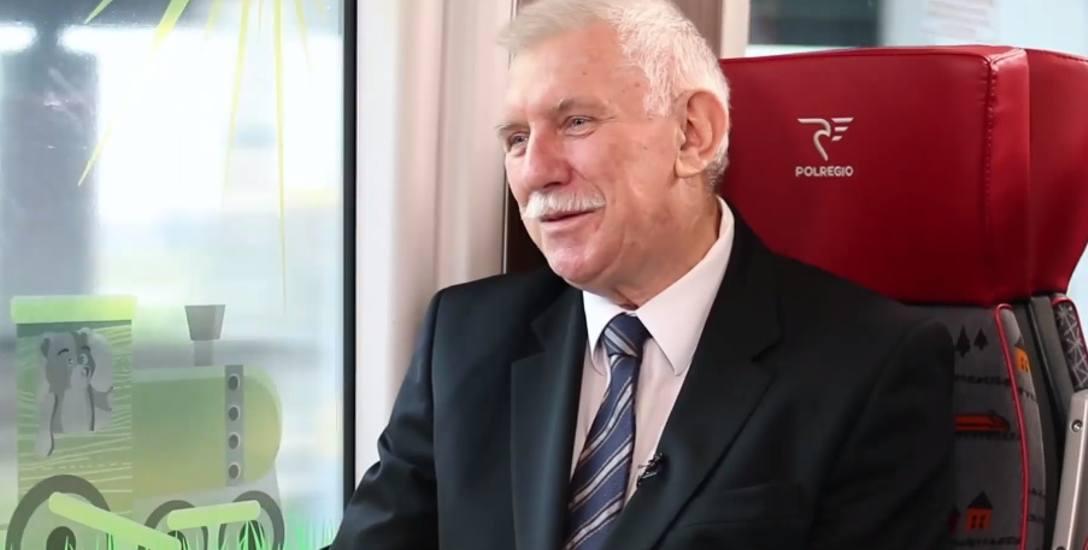 [VIDEO] Antoni Różalski opowiada o syndromie dziadka, mikrobiologii i nordic walking