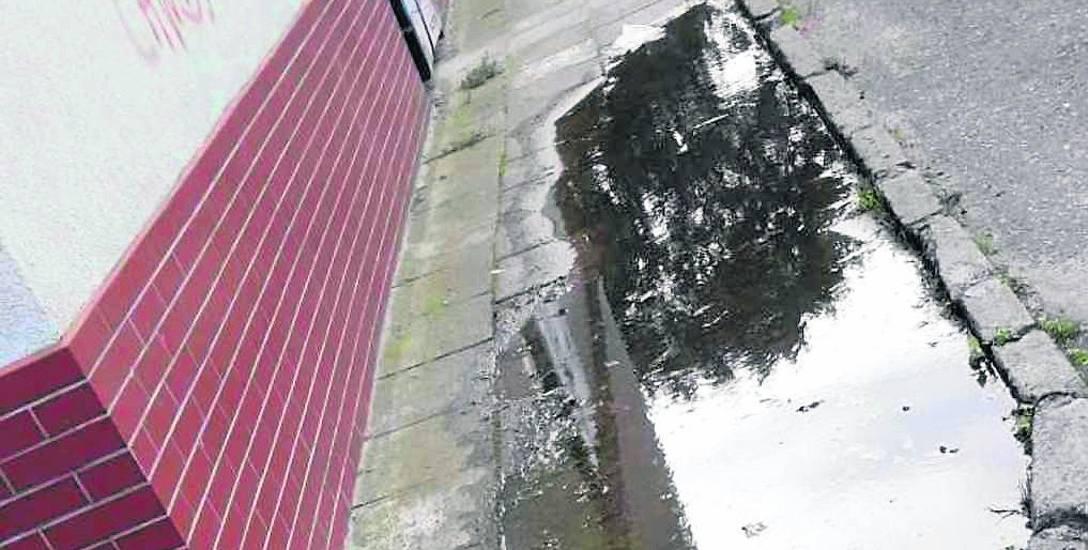- Zgłaszaliśmy sprawę wszędzie, ale nic to nie dało a woda nadal ciekła - mówi pan Arkadiusz, mieszkaniec okolicy. - Problem trzeba rozwiązać, byśmy