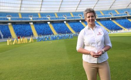 Anita Włodarczyk pierwszy rzut na chorzowskim stadionie już oddała