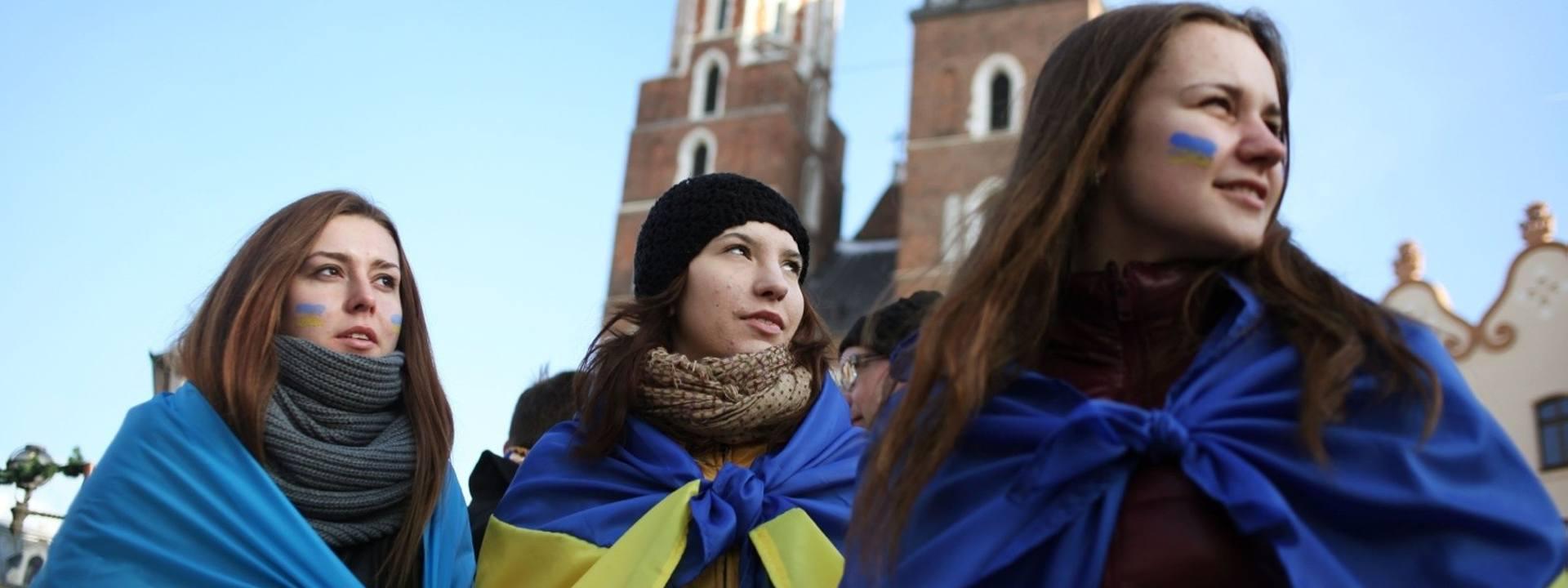 Ukraińcom w Krakowie dobrze, nie chcą wyjeżdżać