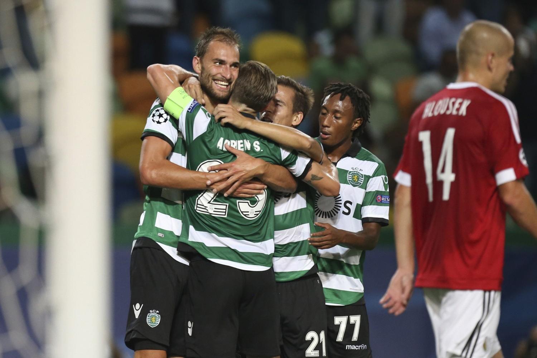 Zdjęcia z meczu Sporting - Legia [GALERIA]