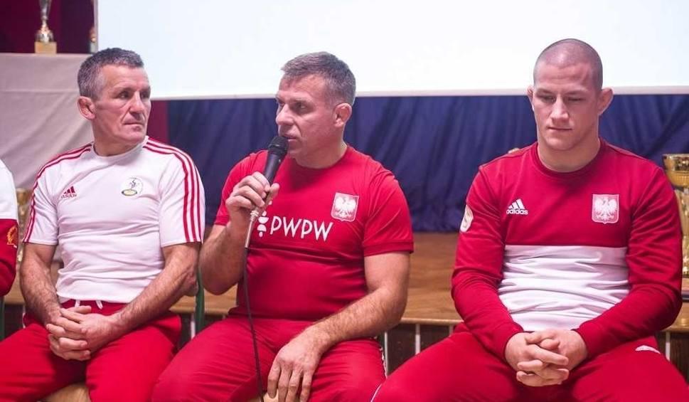 Film do artykułu: Mistrzowie zapasów gościli w radomskiej Budowlance. Dali pokazową lekcję