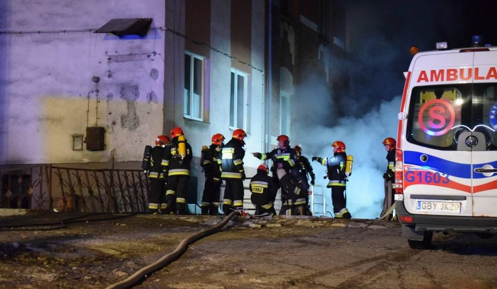 Film do artykułu: Tragiczny pożar w szpitalu w Miastku. 1 osoba nie żyje! Trwa akcja strażaków, ale ogień udało się ugasić [zdjęcia, wideo]