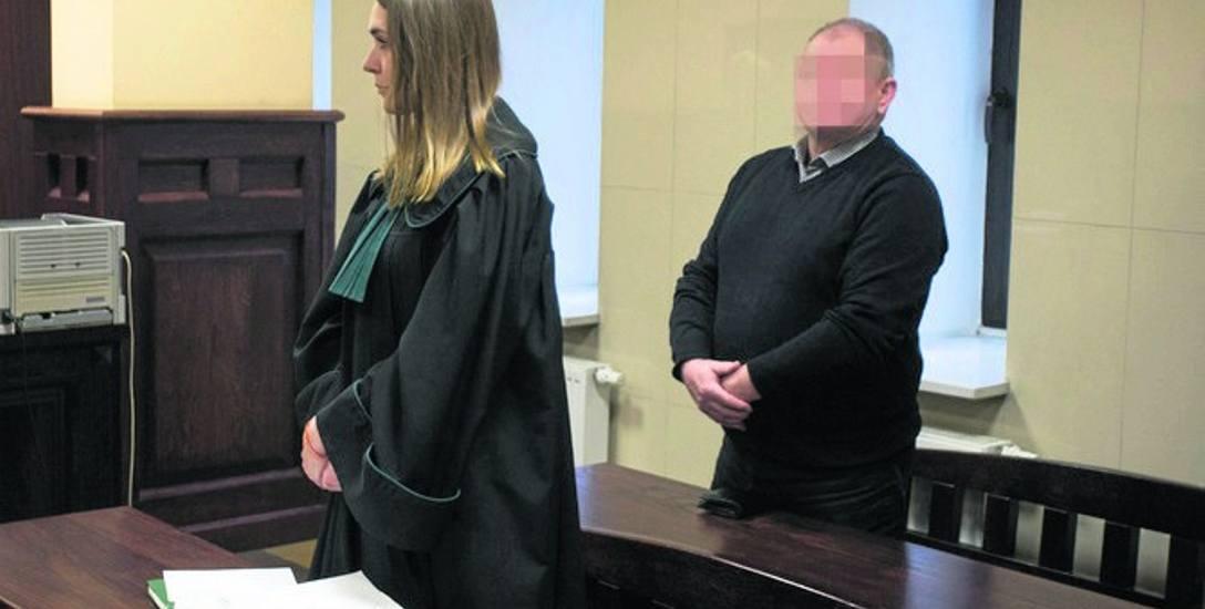 Ogłoszenie prawomocnego wyroku w Sądzie Okręgowym w Słupsku. Andrzej R. jest winnym spowodowania wypadku