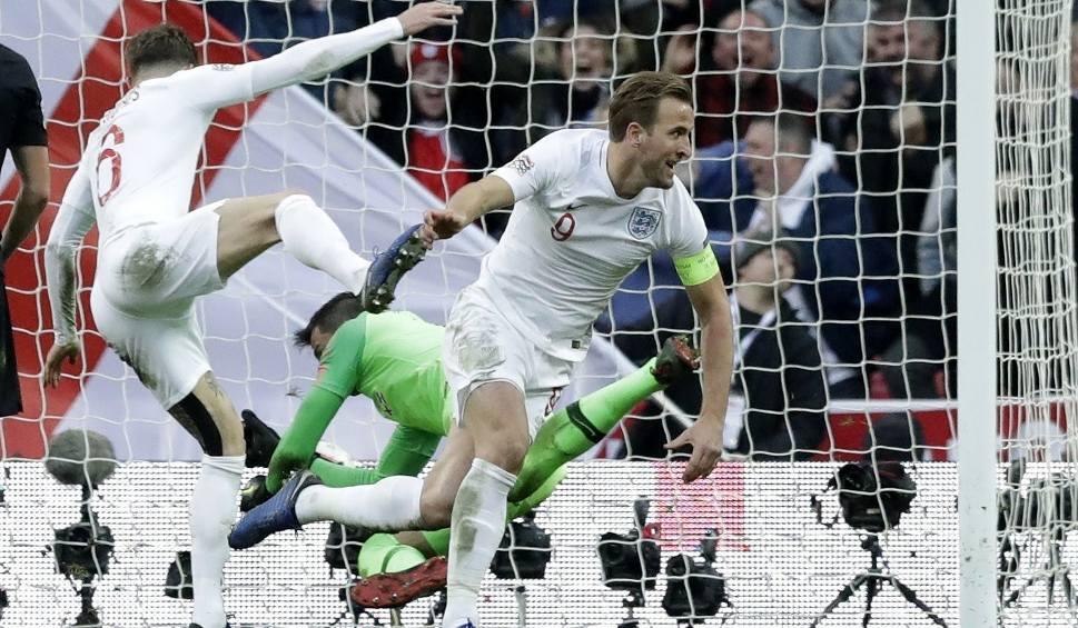 """Film do artykułu: Popis Harry'ego Kane'a. Gareth Southgate: """"To najlepszy łowca bramek na świecie"""""""