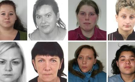 Prezentujemy kobiety, które są aktualnie poszukiwane przez jednostkę KWP Bydgoszcz. Jeżeli rozpoznajesz którąś z tych kobiet, poinformuj policję w Twojej