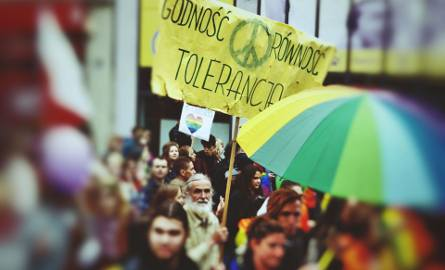 Marsz Równości w Zielonej Górze. - Wolność, miłość, tolerancja! - krzyczeli uczestnicy Tęczobrania 2018 [ZDJĘCIA, WIDEO]