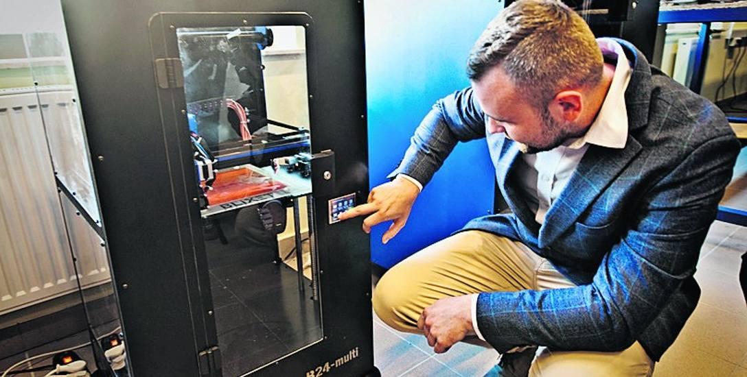 W Koszalinie otwarto Centrum Druku 3D i Wzornictwa