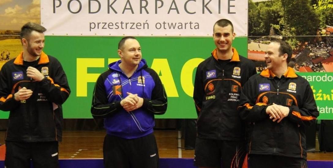 Menedżer pingpongowej drużyny z Jarosławia Kamil Dziukiewicz: Kolping FRAC chce złota na 20-lecie!