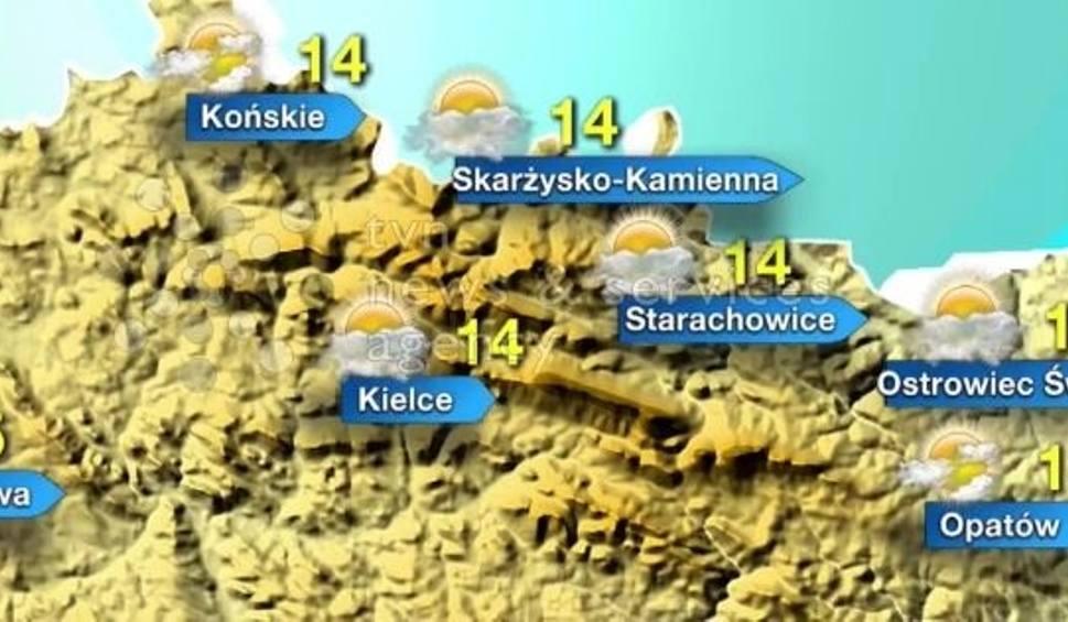 Film do artykułu: Pogoda na sobotę, 4 marca dla Świętokrzyskiego. Nawet 15 stopni!