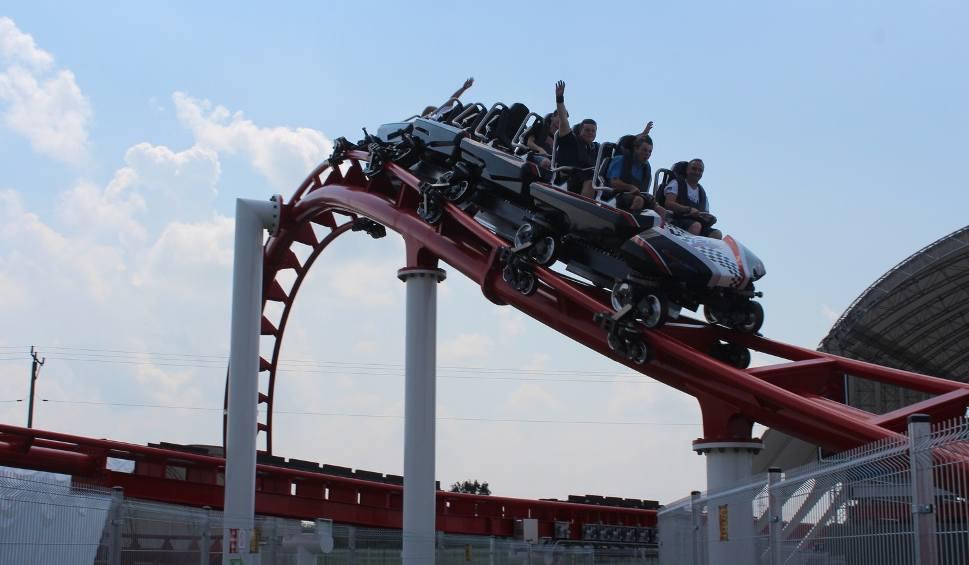 Film do artykułu: W Zatorze otwarto Roller Coaster Formuła 1