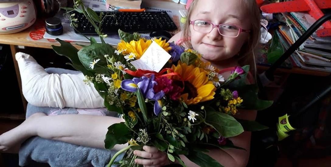 24 listopada Wiktoria Klińska kończy 14 lat. Wyślijcie jej życzenia!
