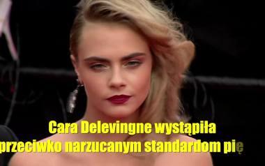 Modelka Cara Delevingne ostro krytykuje narzucane standardy piękna