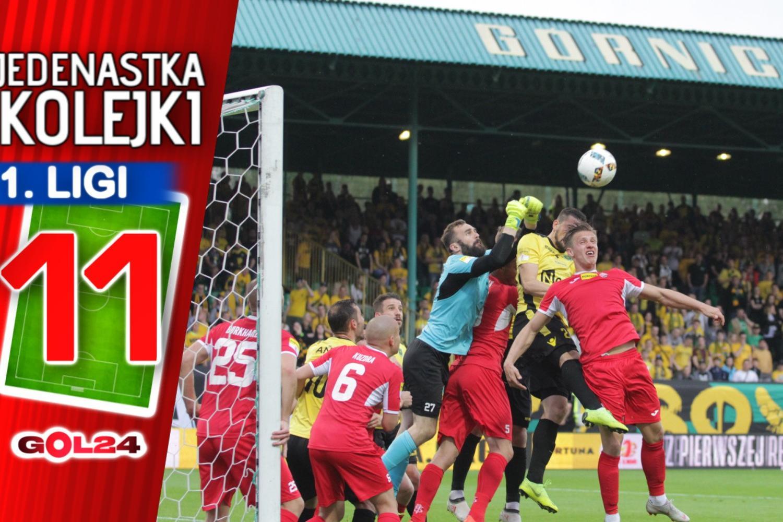 Jedenastka 34. kolejki Fortuna 1 Ligi według GOL24!