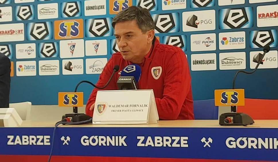 Film do artykułu: Co po meczu Górnik Zabrze - Piast Gliwice powiedział trener Waldemar Fornalik? [WIDEO]