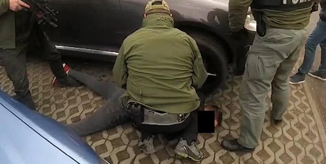 Akcja bydgoskiego zarządu CBŚP  w Toruniu