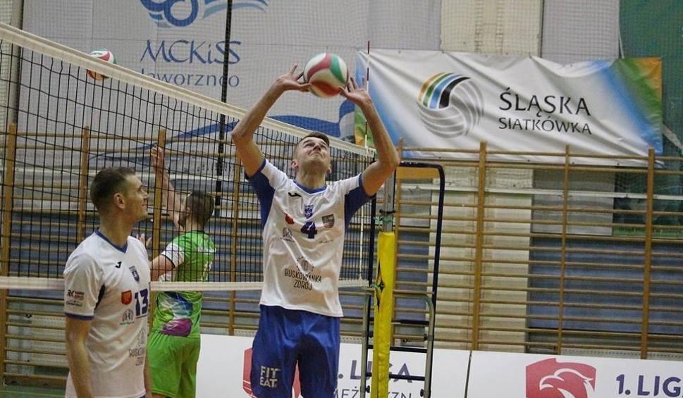 Film do artykułu: 1 liga siatkarzy. Buskowianka Kielce przegrała 1:3 z MCKiS w Jaworznie i zajęła 10 miejsce na zakończenie sezonu w pierwszej lidze