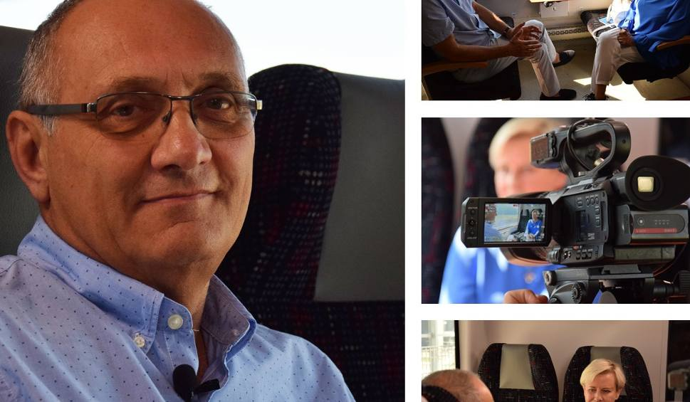 Film do artykułu: Kolej na... Rozmowy na trasie PKM. Prof. Jacek Jassem o trudnej walce z nowotworami [WIDEO]