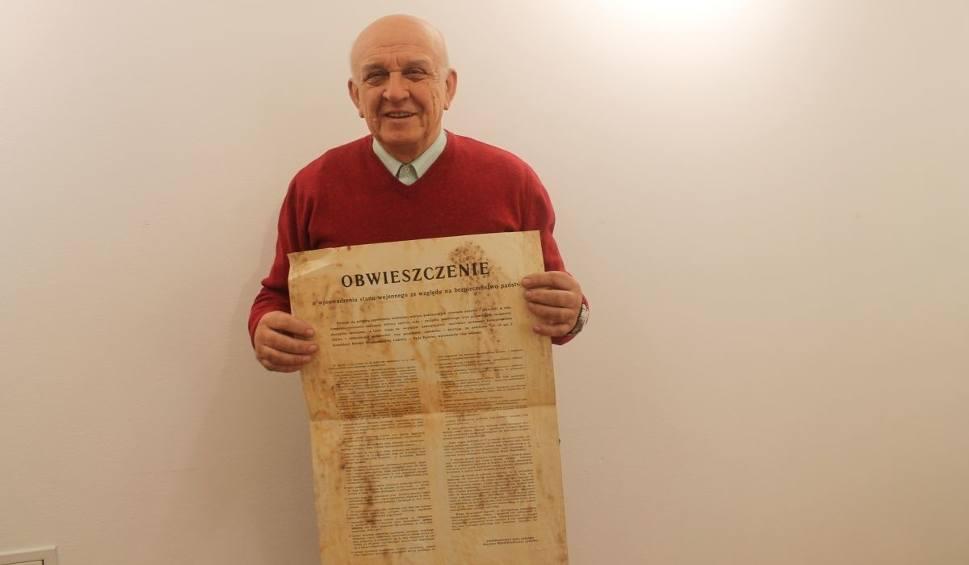 Film do artykułu: Były wiceprezydent Kielc przekazał swoje zbiory dotyczące stanu wojennego